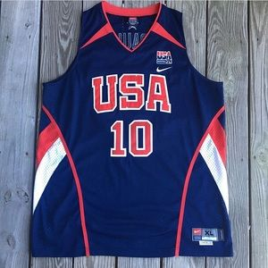 Nike Chris Paul No. 10 USA Authentic Jersey